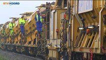 Vier dagen lang werkzaamheden op het spoor - RTV Noord