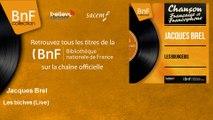 Jacques Brel - Les biches - Live