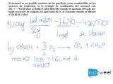 Entalpías de formación y enlace Calor de combustión