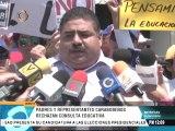 Carabobeños protestan ante la Defensoría del Pueblo para rechazar consulta educativa