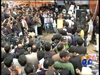 Nawaz Sharif at Missing Persons hahahaha