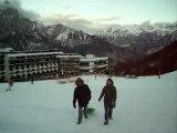 Luge à la neige Puy St Vincent Alpes