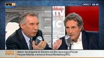 François Bayrou, invité de Bourdin Direct sur BFMTV - 280414