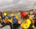 Rafting sur la rivière Hvita en Islande (Blue Collar Man) HD