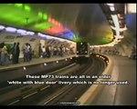metro ligne 7 et ligne 1 paris 1992
