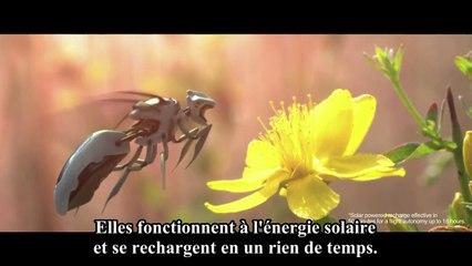 Robobees : la nouvelle campagne de Greenpeace imagine un monde sans abeilles
