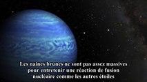 La NASA découvre la naine brune la plus froide connue dans l'Univers