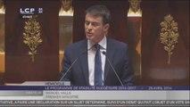 """Valls : """"J'assume, oui j'assume les choix qui sont faits"""""""