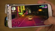 GTA Vice City Samsung Galaxy S5 vs. Galaxy S4 vs. Galaxy S3 vs. Galaxy S2 Gameplay Comparison