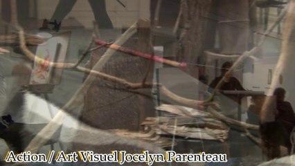 Les mordus du Croquis - Action/Art visuel Jocelyn Parenteau - LaRPV.tv