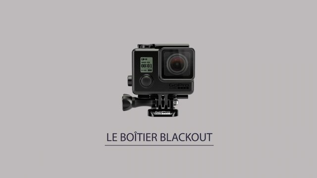 GoPro BLACKOUT - PRESENTATION BOÎTIER