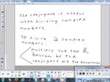 A.4(2) Complex Numbers & 5.3(1) The Complex Plane 4-30-14