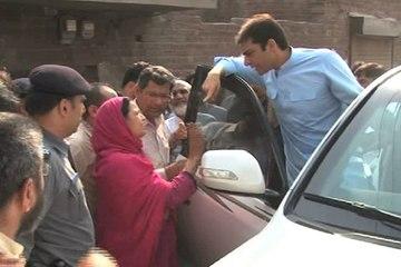 Hamza Shahbaz Visits Families Of Shahdara Manhole Victims, Announces 5 Lakh
