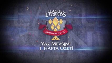 Yaz Mevsimi Şampiyonluk Ligi 1. Hafta Maç Özetleri