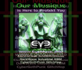 Australian Electronica: EYE live 'Music, is Here To Protect You' [Industrial WitchHouse GlitchHop ElectroPunk ElectroClash Aussie Music Bands]