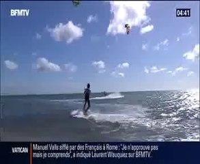 BFM TV 28/04 - Reportage sur le Mondial du Vent 2014