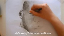 Will Smith Speed Portrait Drawing - Draw Pencil Portraits