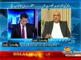 Pakistan Aaj Raat - 30 April 2014 - Khursheed Shah