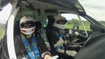 Crash de dingue sur le Rallye de Wallonie 2014 en Clio R3