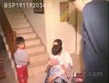 Benazir Bhutto with her children Bilawal Bhutto Zardari and Bakhtawar Bhutto Zardari
