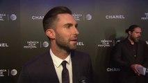 Begin Again INTERVIEW - Adam Levine (2014) - Adam Levine, Keira Knightley Movie HD