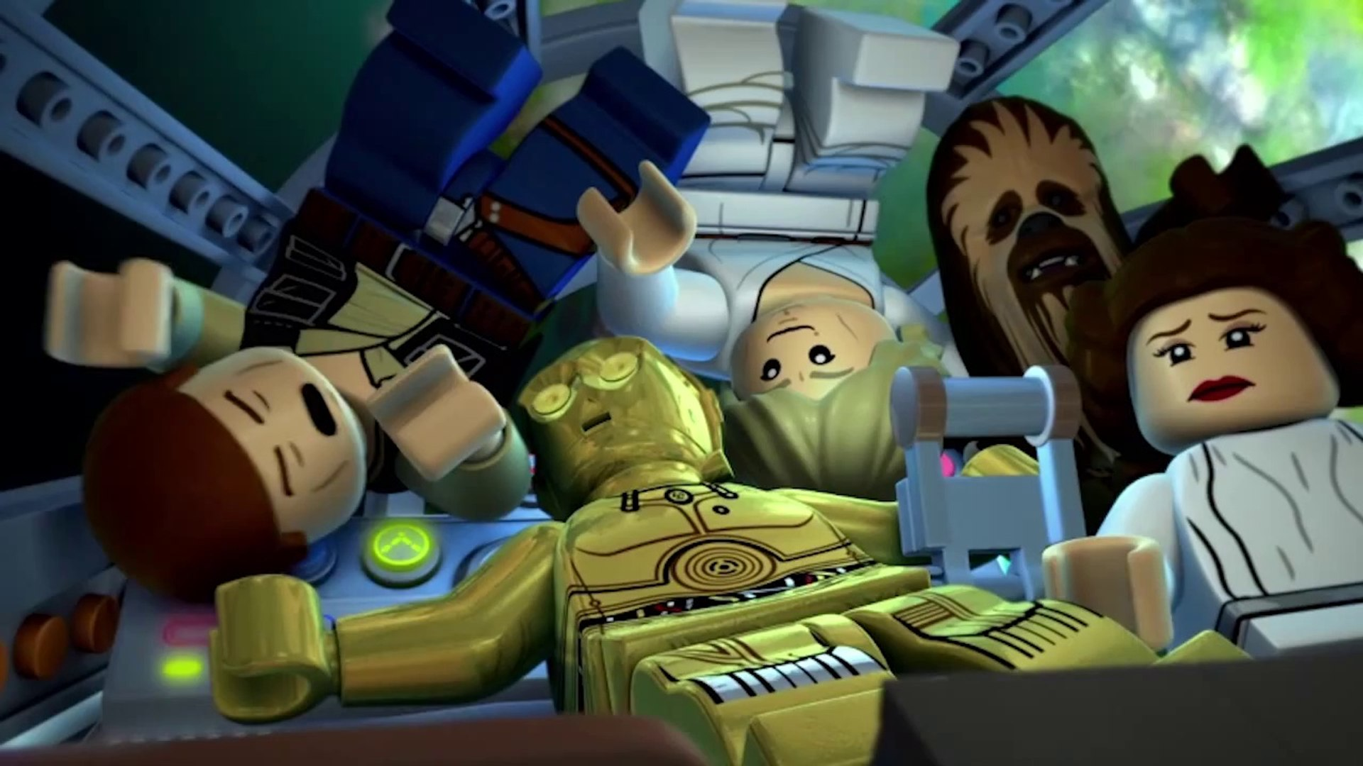 Lego Star Wars The New Yoda Chronicles Escape From The Jedi Temple Trailer