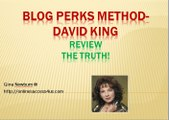 Blog Perks Method-David KingBlog Perks Review