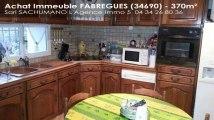 A vendre - immeuble - FABREGUES (34690) - 370m²