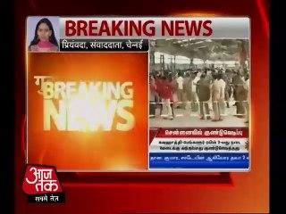 Bomb blast at Chennai Central Railway sation