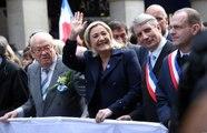 Le FN défile à Paris et appelle son électorat à se mobiliser pour les Européennes