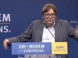 Éblouissant discours de Guy Verhofstadt à Lyon - 30 avril  2014 - UDI - MODEM Les Européens