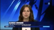 Interview de Clarisse Heusquin, candidate EELV aux européennes 2014 dans les régions Auvergne, Limousin et Centre [19/20 de France 3 Limousin]
