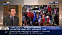 Le Soir BFM: 1er mai: le FN défile et lance sa campagne européenne - 01/05 2/5