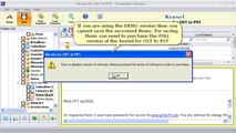 Repair & Convert Outlook OST Files to PST Files - Kernel for OST to PST Conversion Tool