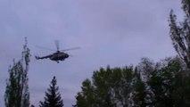 Ukraine : un hélicoptère visé par des tirs à Sloviansk