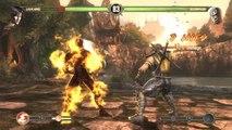 Mortal Kombat Komplete Edition. Liu Kang vs Scorpion