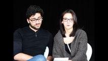 Interview des étudiants comédiens de l'atelier de formation théâtrale pour la folle nuit du théâtre universitaire