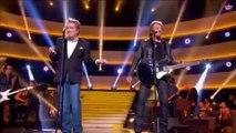 Johnny Hallyday, Eddy Mitchell et Jacques Dutronc : Un concert à prix d'or (Vidéo)