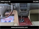 2006 Lexus GS 300 for Sale Baltimore Maryland | CarZone USA