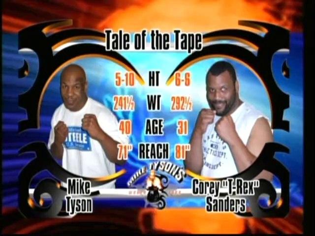 Mike Tyson vs Corey Sanders 2006-10-20 full fight