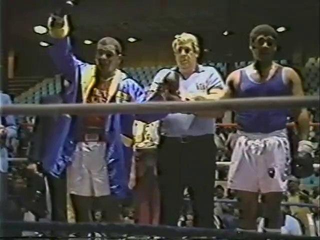 Mike Tyson vs Craig Payne 1983-03-26 amateur fight