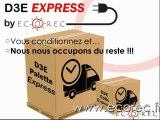 ECOREC - Services Entreprises Expo 2014 - Recyclage D3E / DEEE - Recyclage informatique et télécom