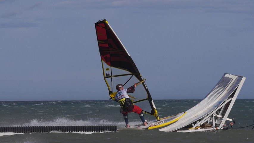 Mondial du Vent 2014 - Windsurf Freestyle WindMeet day 7