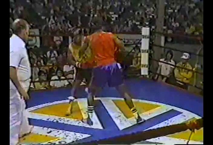 Mike Tyson vs Winston Bennet 1984-08-18 amateur fight