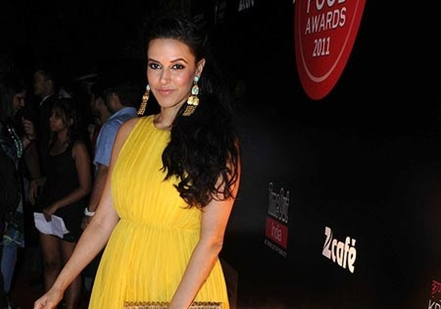 Bollywood Actress Neha Dhupia looks gorgeous & Beauty at Time Out Food Awards 2011