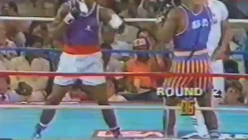 Mike Tyson vs Henry Tillman II 1984-07-07 amateur fight