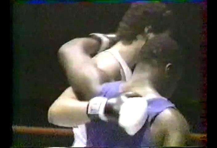 Mike Tyson vs Kelton Brown II 1984-08-23 amateur fight