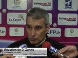 (J35) Châteauroux 1-1 Laval, réaction de D. Zanko