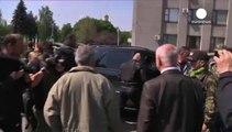 Liberados los observadores de la OSCE retenidos en la ciudad ucraniana de Slaviansk