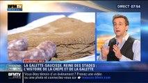 Cuisinez-moi: La galette-saucisse, reine des stades: l'histoire de la crêpe et de la galette - 03/05